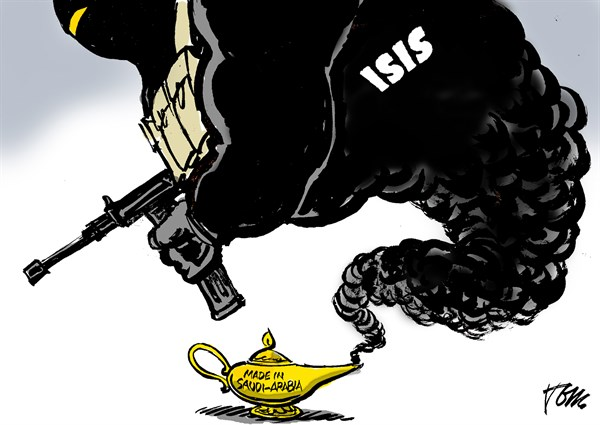 ISIS made by Saudi Arabia